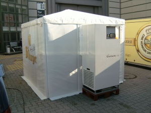 Fridge Tent: pop-up refrigeration